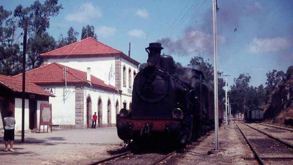 Estación de La Fregeneda, años 60 del siglo XX