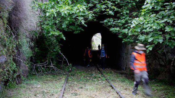 La cara norte de un túnel
