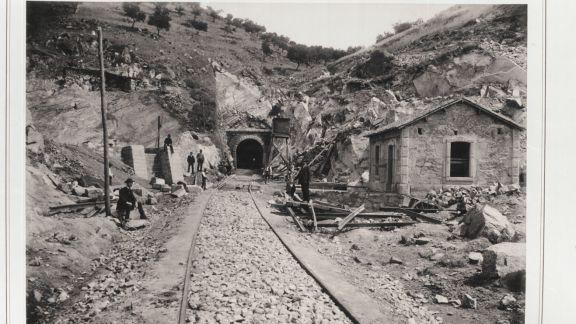 Túnel de la carretera, fotografía Emlio Biel
