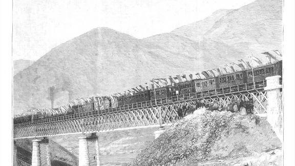 Inauguración del puente internacional sobre el Águeda, fotografía remitida por D. Santos Tordesillas