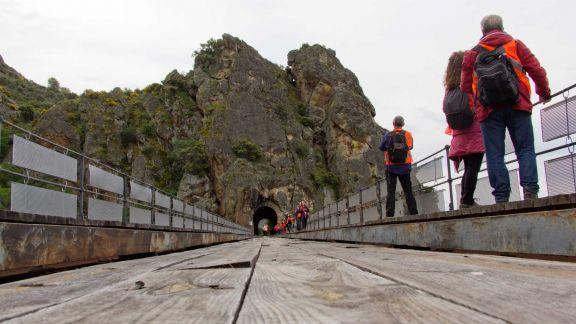 El túnel y el puente de Poyo Rubio